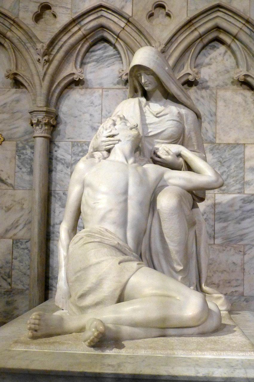 Réplique de la Pietà de Michel-Ange