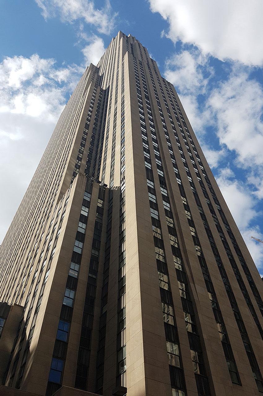 Le Rockefeller Plaza, un building de 70 étages