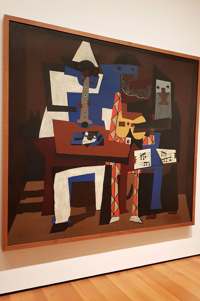 Trois musiciens de Pablo Picasso
