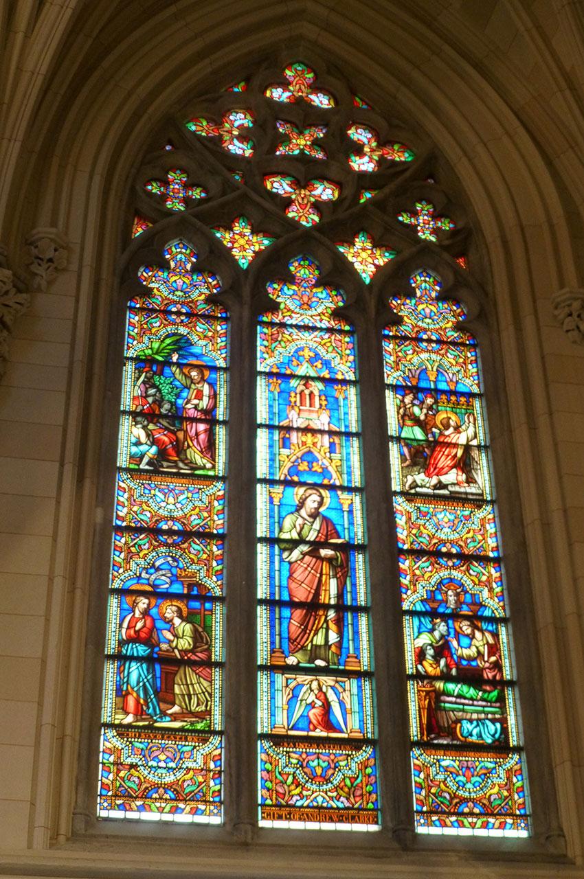 Vitrail de la St. Patrick's Cathedral