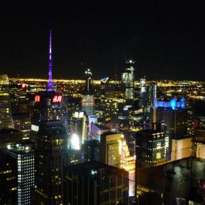 Vue sur New York depuis le 70e étage