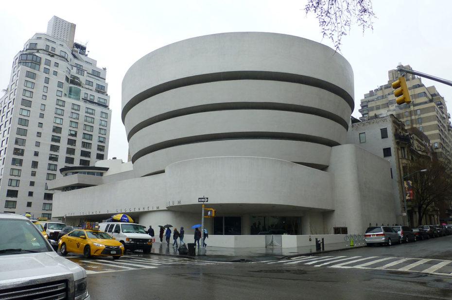 L'architecture originale du musée Guggenheim