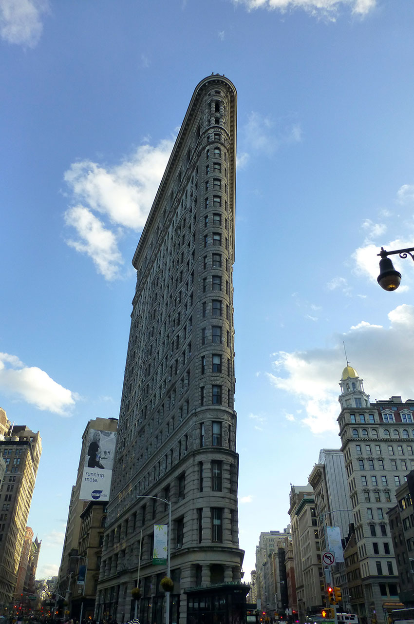 Architecture en triangle du Flatiron Building
