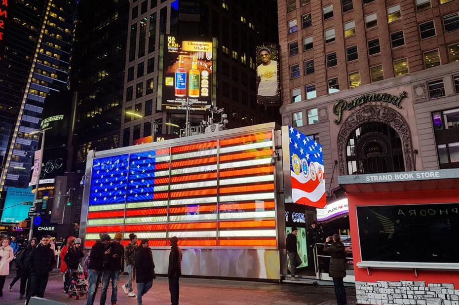 L'armée américaine recrute à Times Square