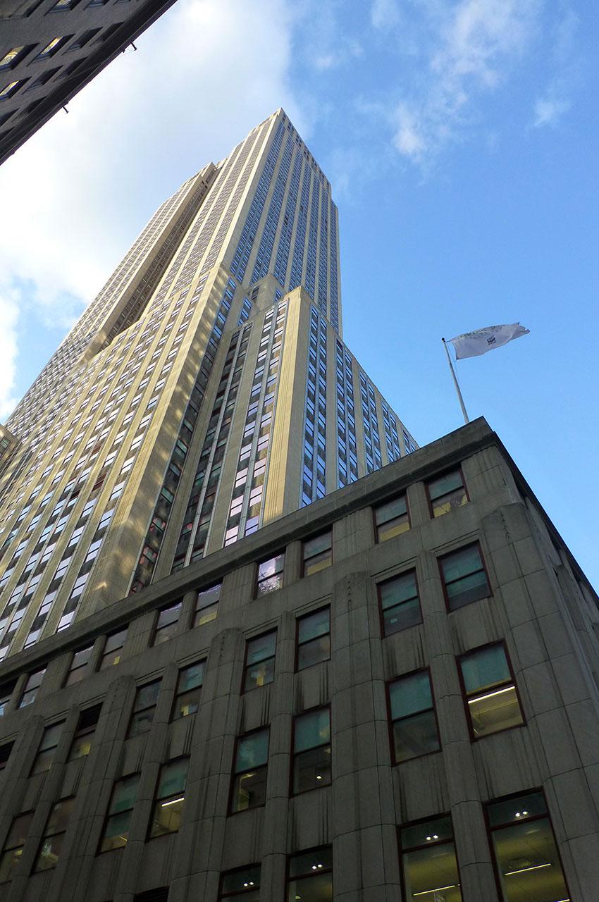 L'Empire State Building et ses 102 étages
