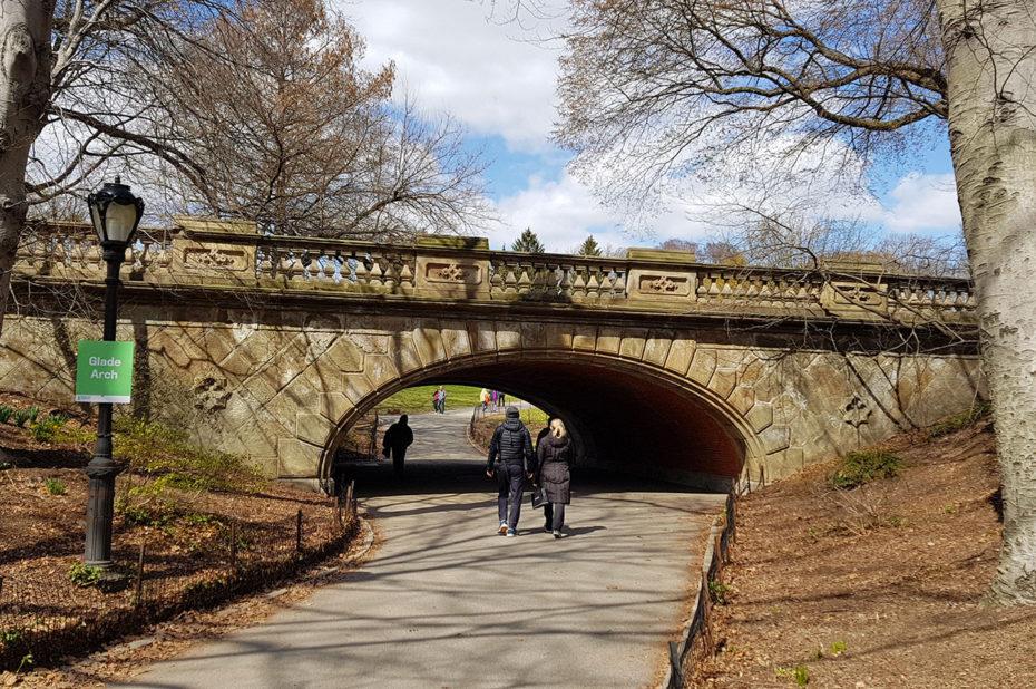 Glade Arch, pont de Central Park