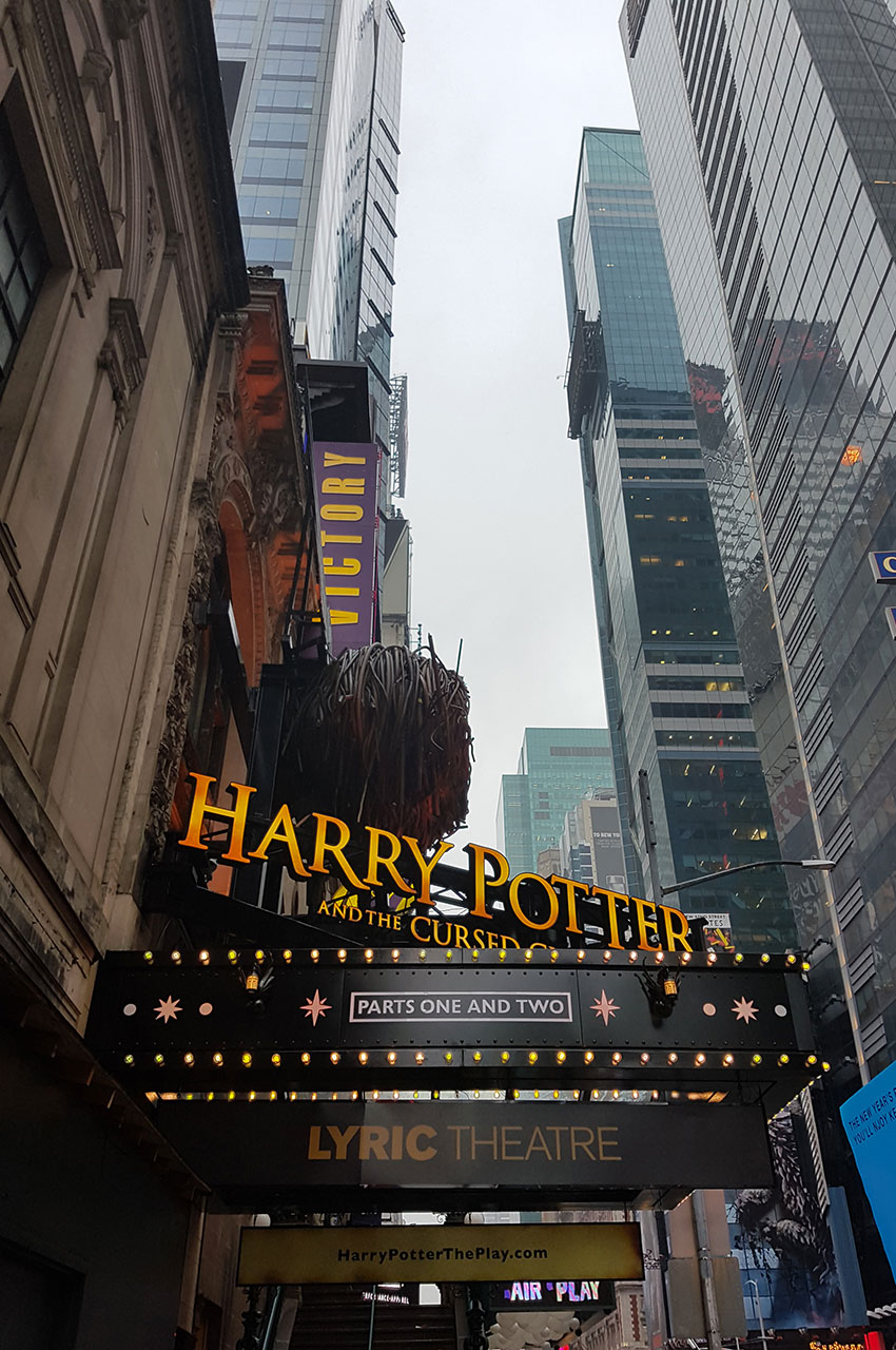 Harry Potter and the Cursed Child, au théâtre sur Broadway
