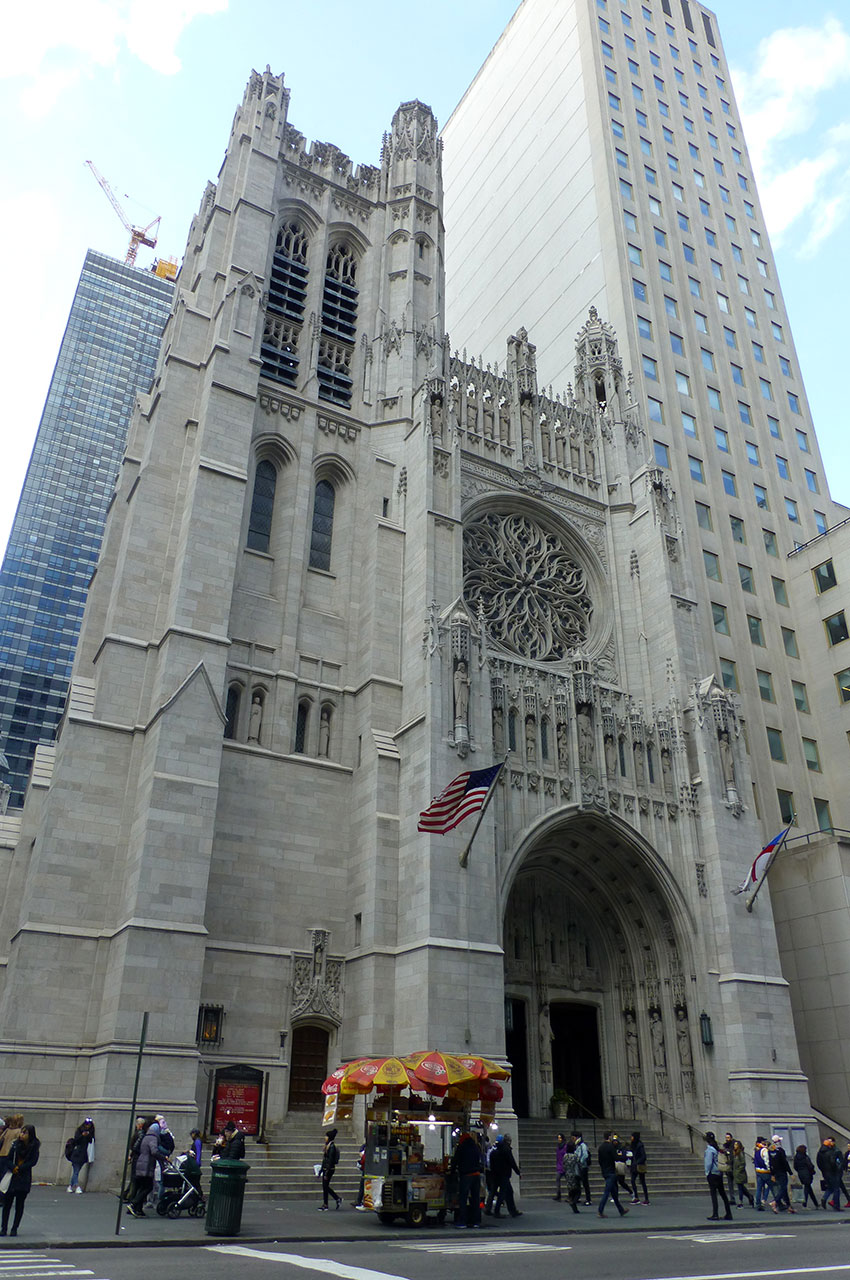 Saint Thomas Church, sur la 5e avenue