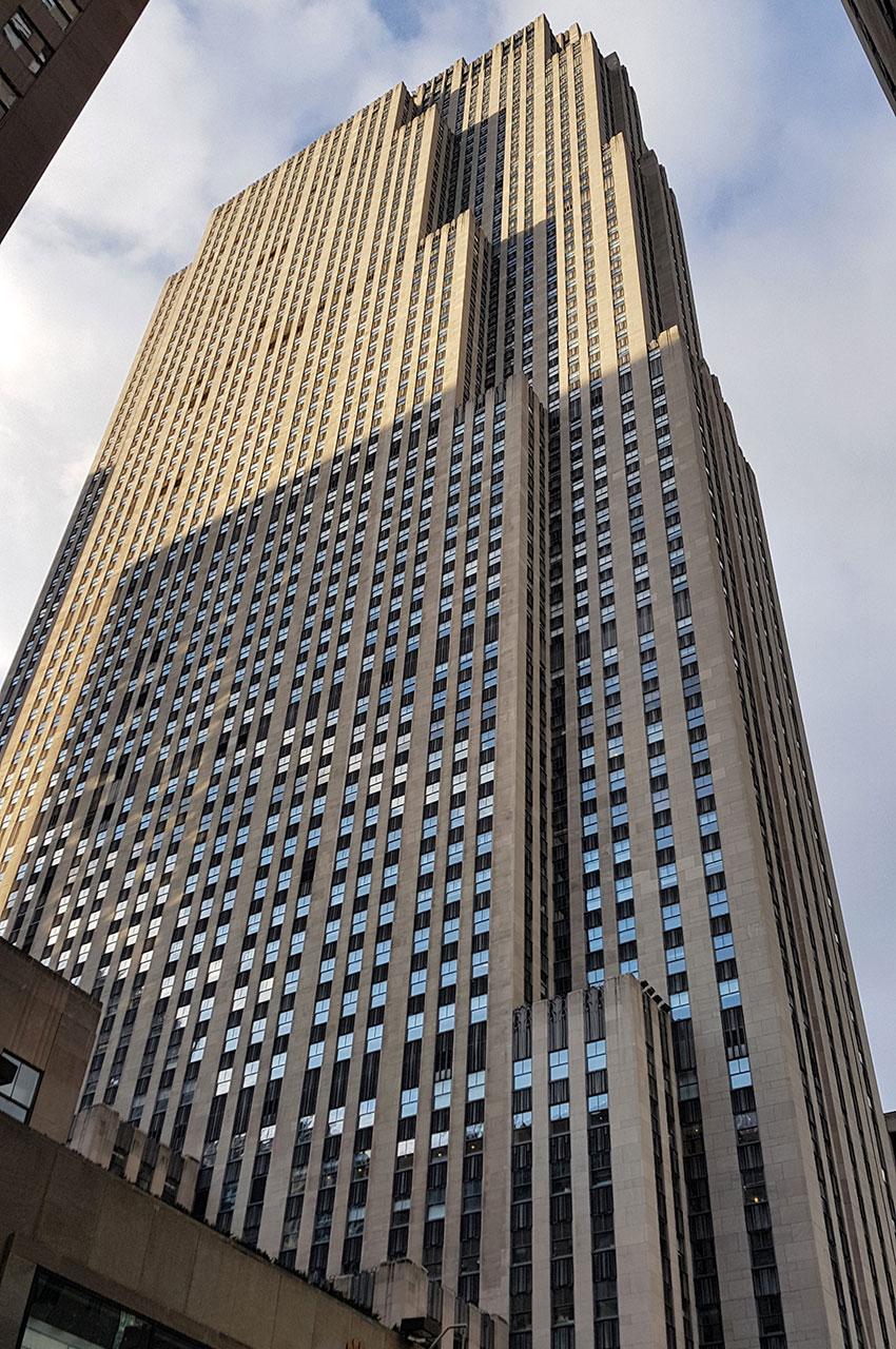 Tour des studios NBC au Rockefeller Plaza