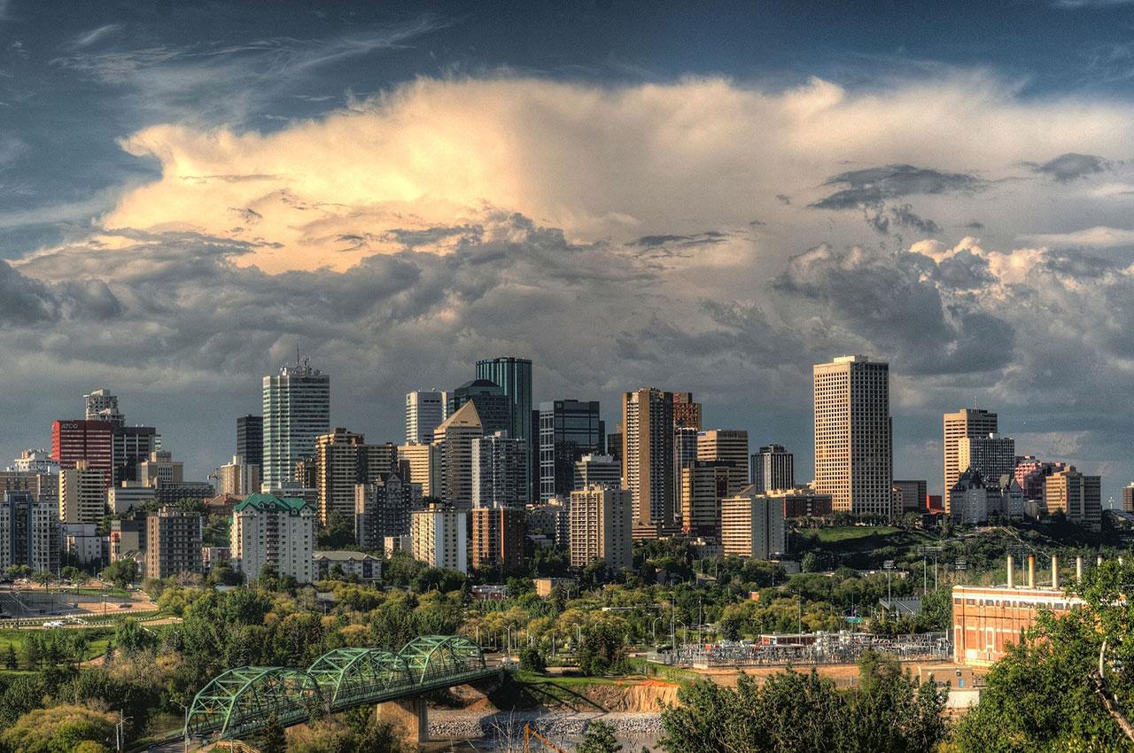 Edmonton, capitale de l'Alberta