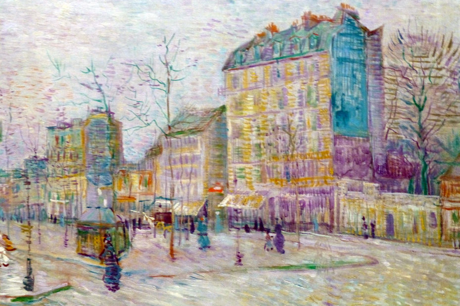 Boulevard de Clichy de Vincent Van Gogh