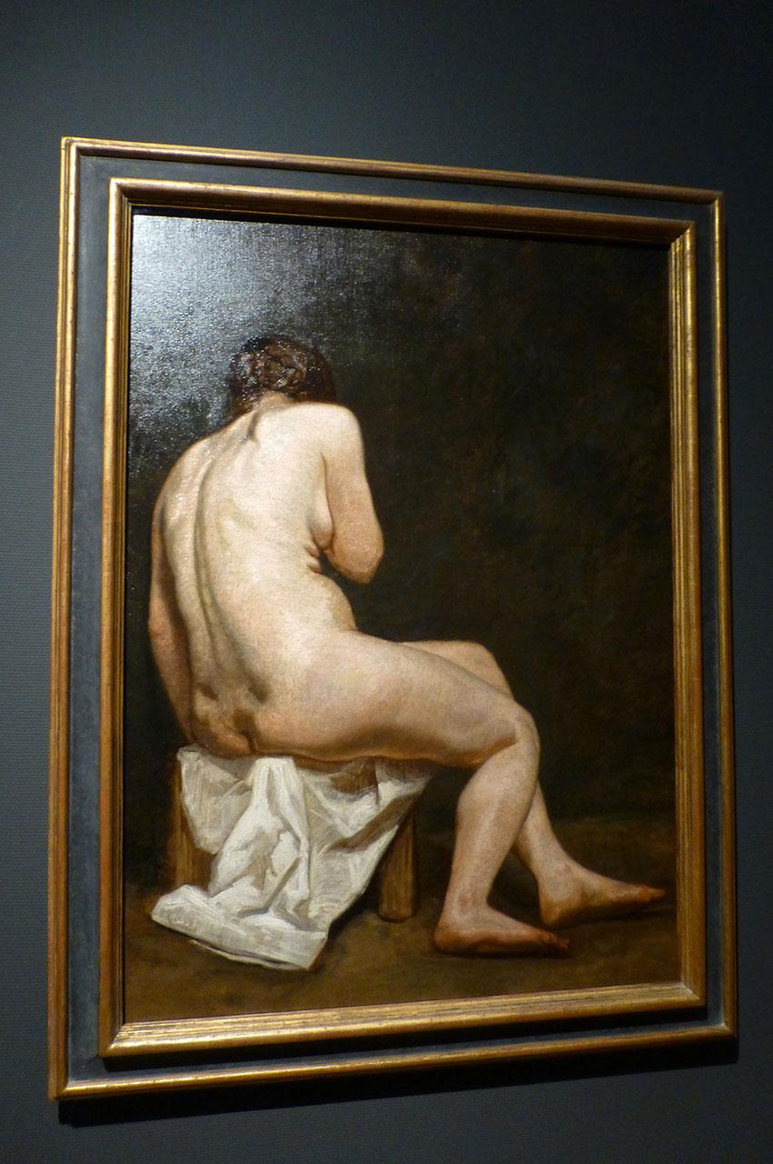 Femme nue de John Russell