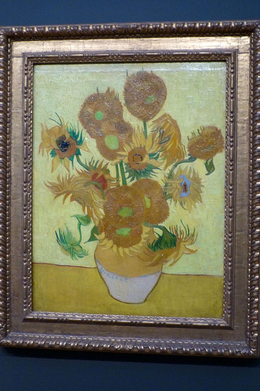 Les Tournesols de Vincent Van Gogh