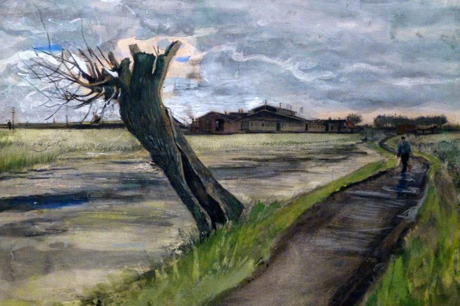 Pollard Willow de Vincent Van Gogh