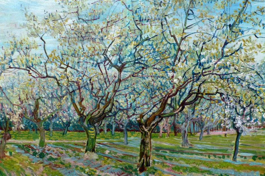 Le verger blanc de Vincent Van Gogh