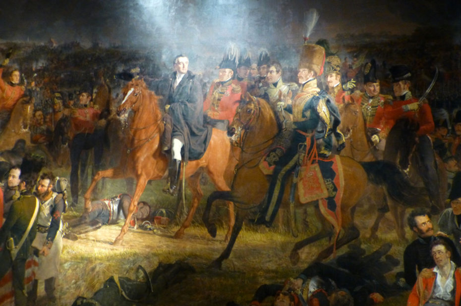 La bataille de Waterloo de Jan Pieneman