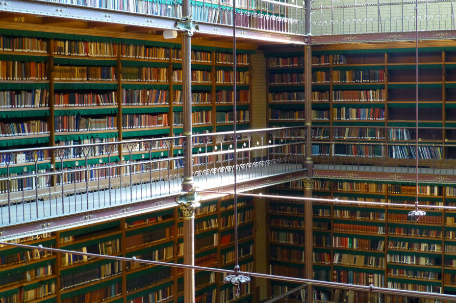 La bibliothèque de recherche Rijksmuseum