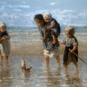 Les enfants de la mer de Jozef Israël