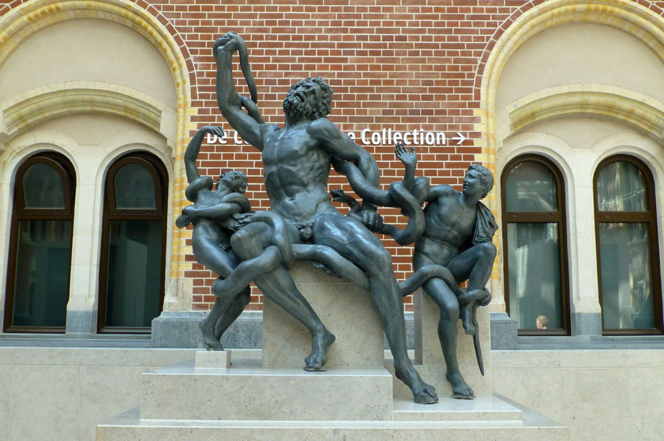 Dans le hall principal du Rijksmuseum