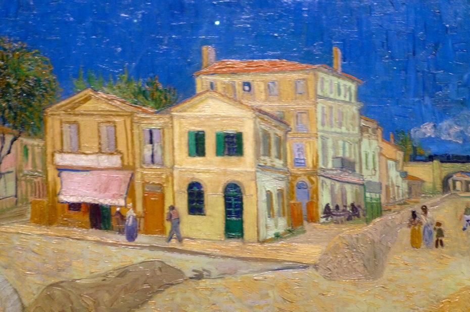 La maison jaune de Vincent Van Gogh