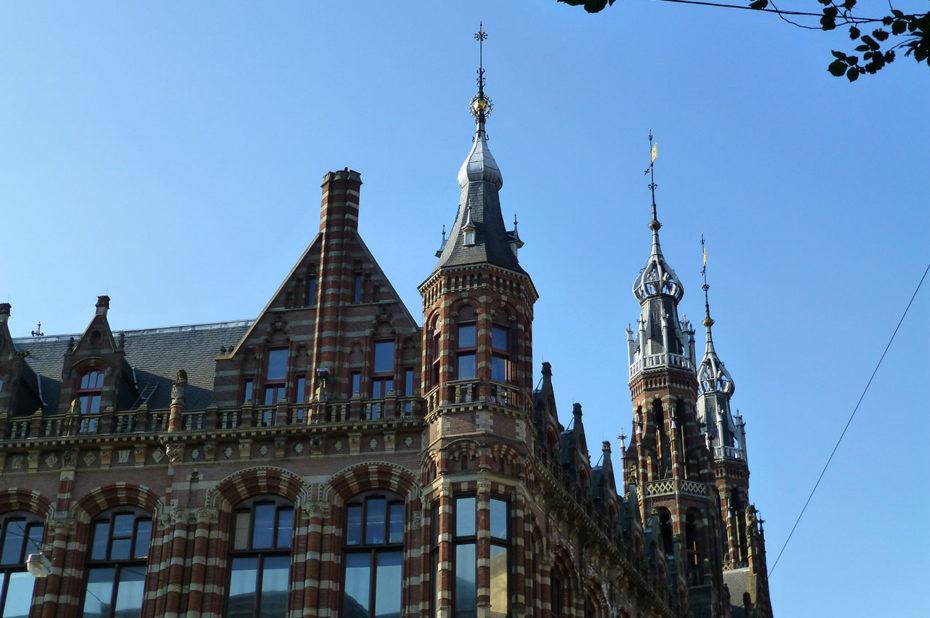 Exemple de la magnificence de l'architecture néerlandaise