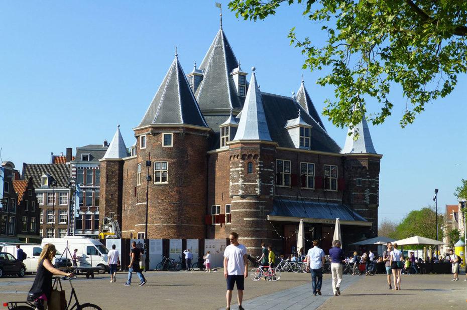 Le Waag (poids public), monument datant du XVe siècle