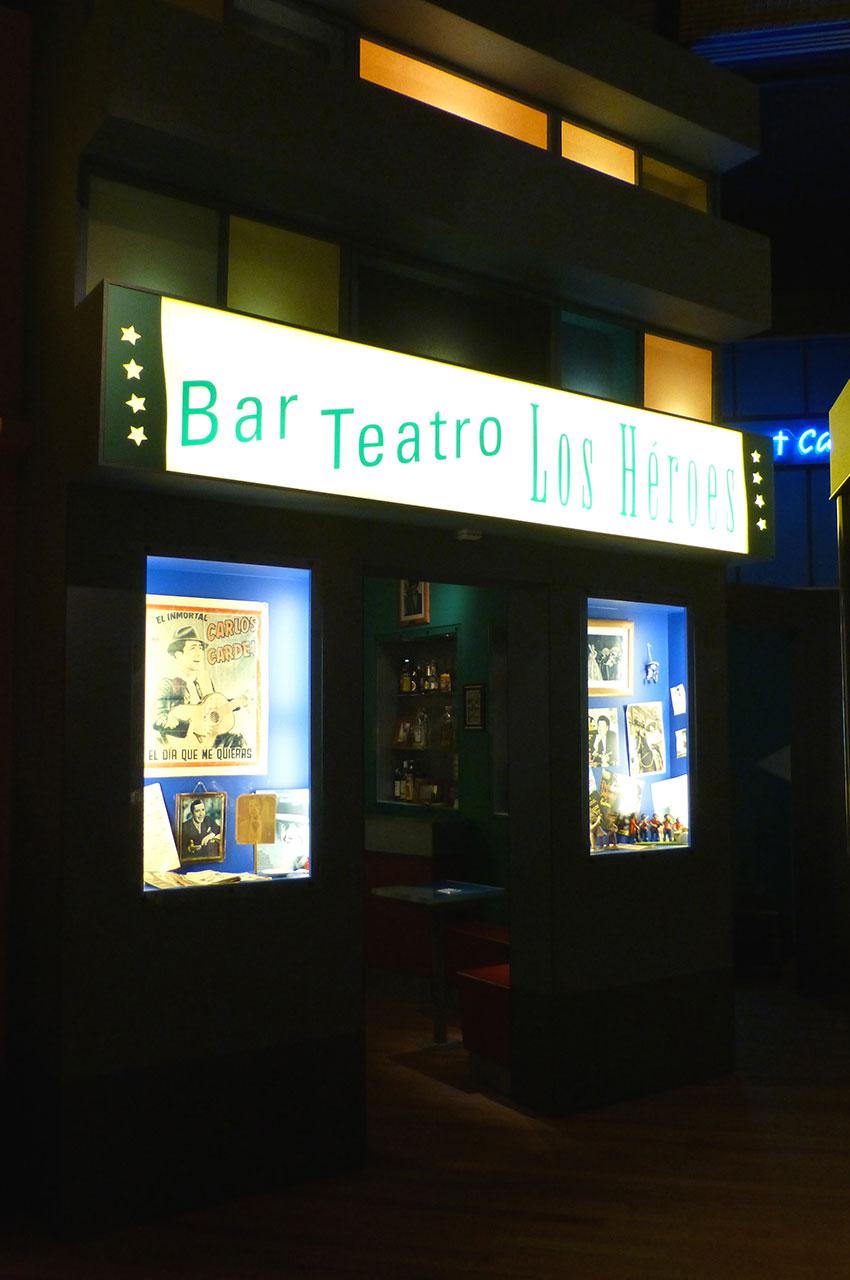 Bar Teatro Los Heroes