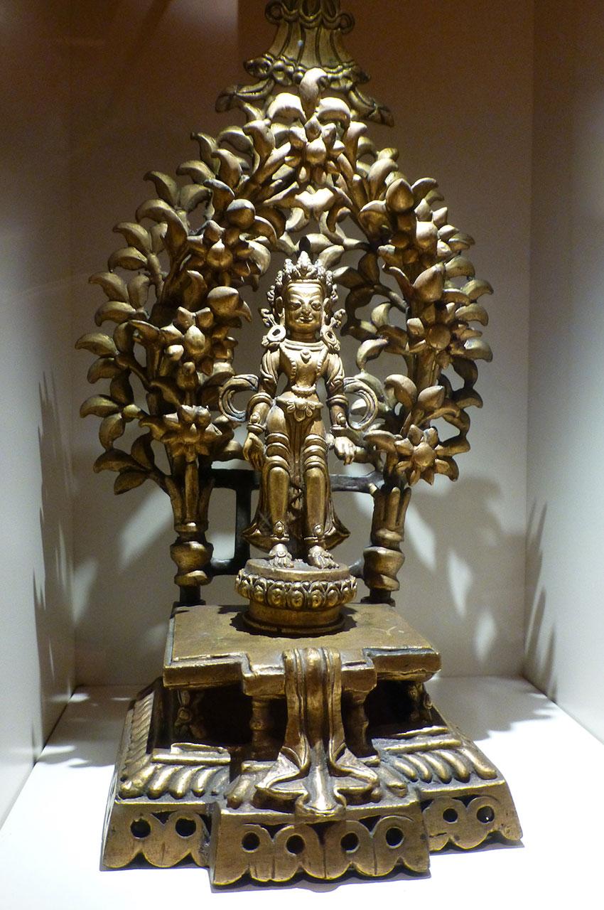 Bronze d'un dieu hindou