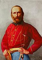 Giuseppe Garibaldi et sa célèbre chemise rouge