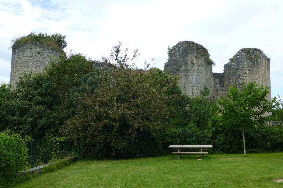 Château de Gençay, dans la Vienne