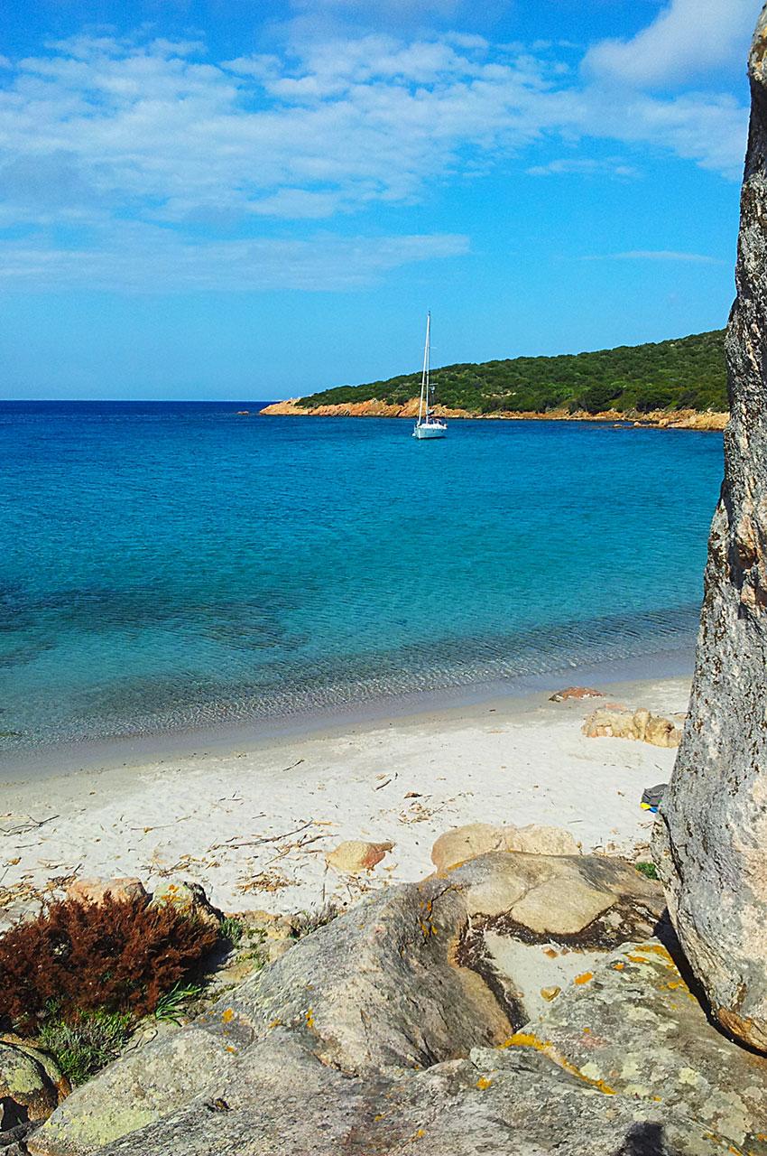 L'île de Caprera, dans l'archipel de la Maddalena