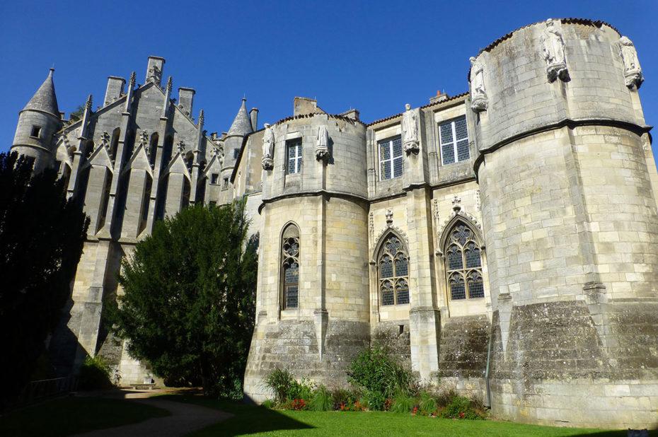 Le palais de justice de Poitiers, de style gothique-angevin