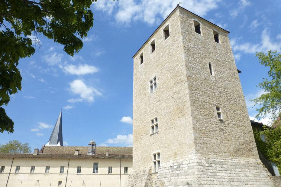 La Tour des Archives de l'Abbaye d'Ambronay