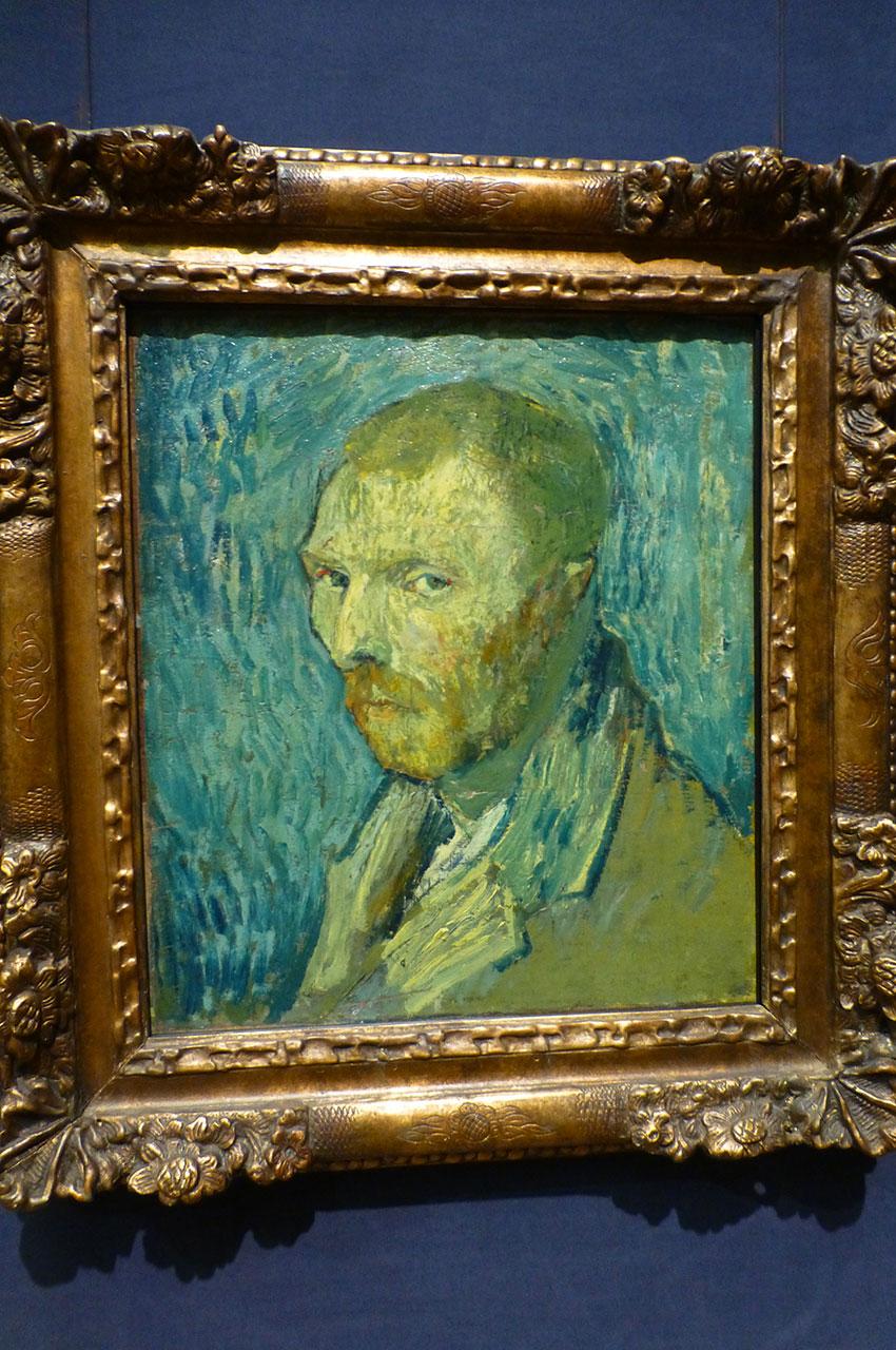 Autoportrait à l'oreille mutilée, de Vincent Van Gogh