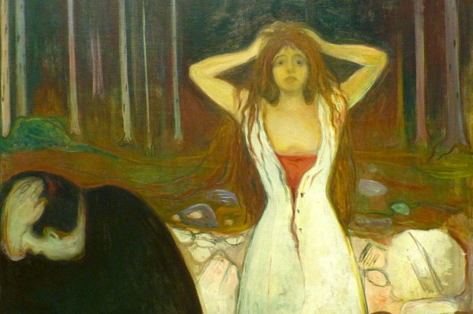 Cendres, de Edvard Munch