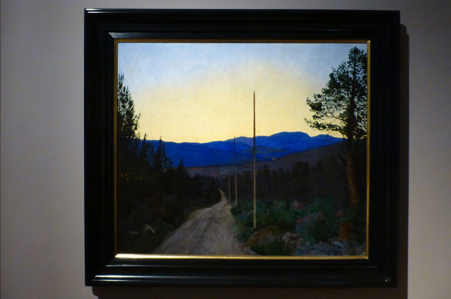 Country road, de Harald Sohlberg