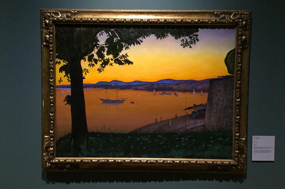 From Akershus, peinture de Harald Sohlberg