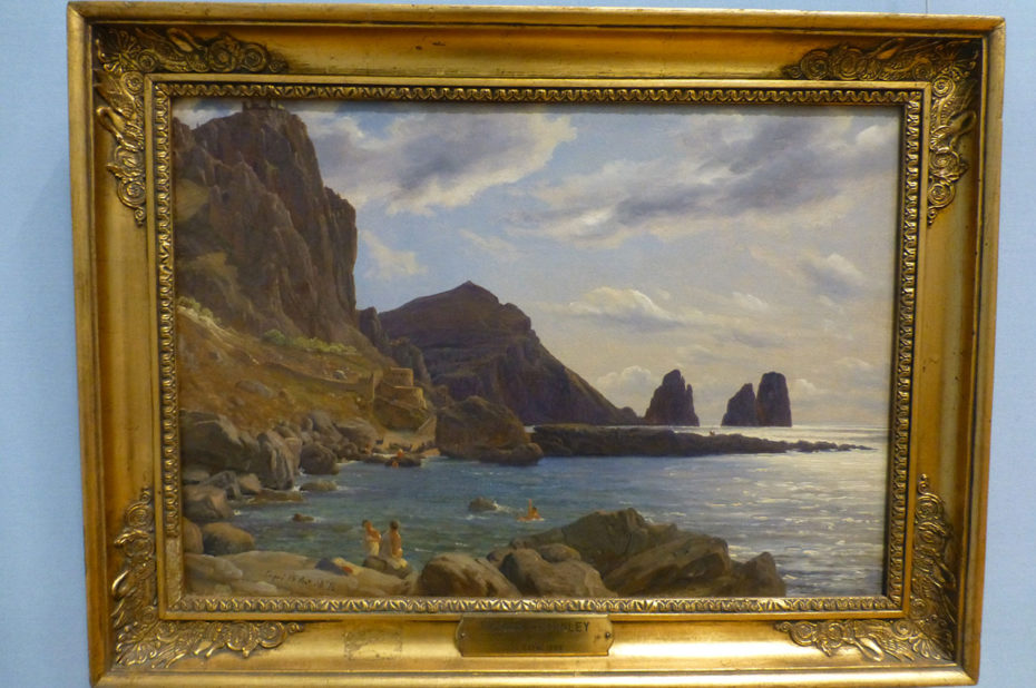 From Capri, peinture de Thomas Fearnley