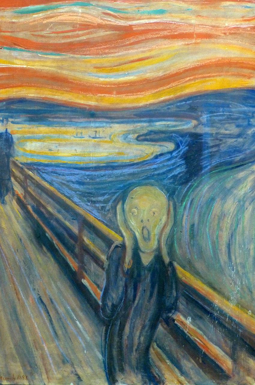 Le Cri, peinture d'Edvard Munch