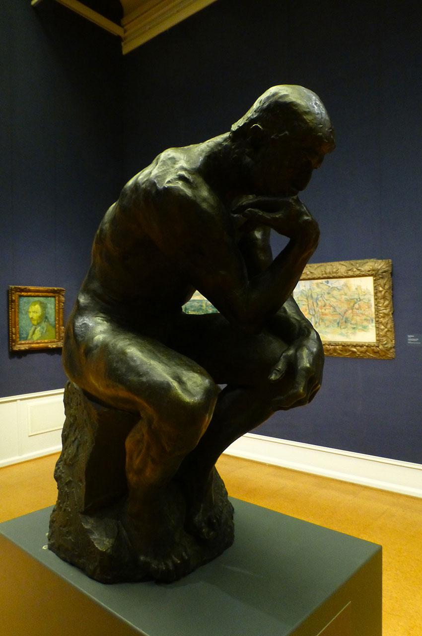 Le penseur, sculpture d'Auguste Rodin