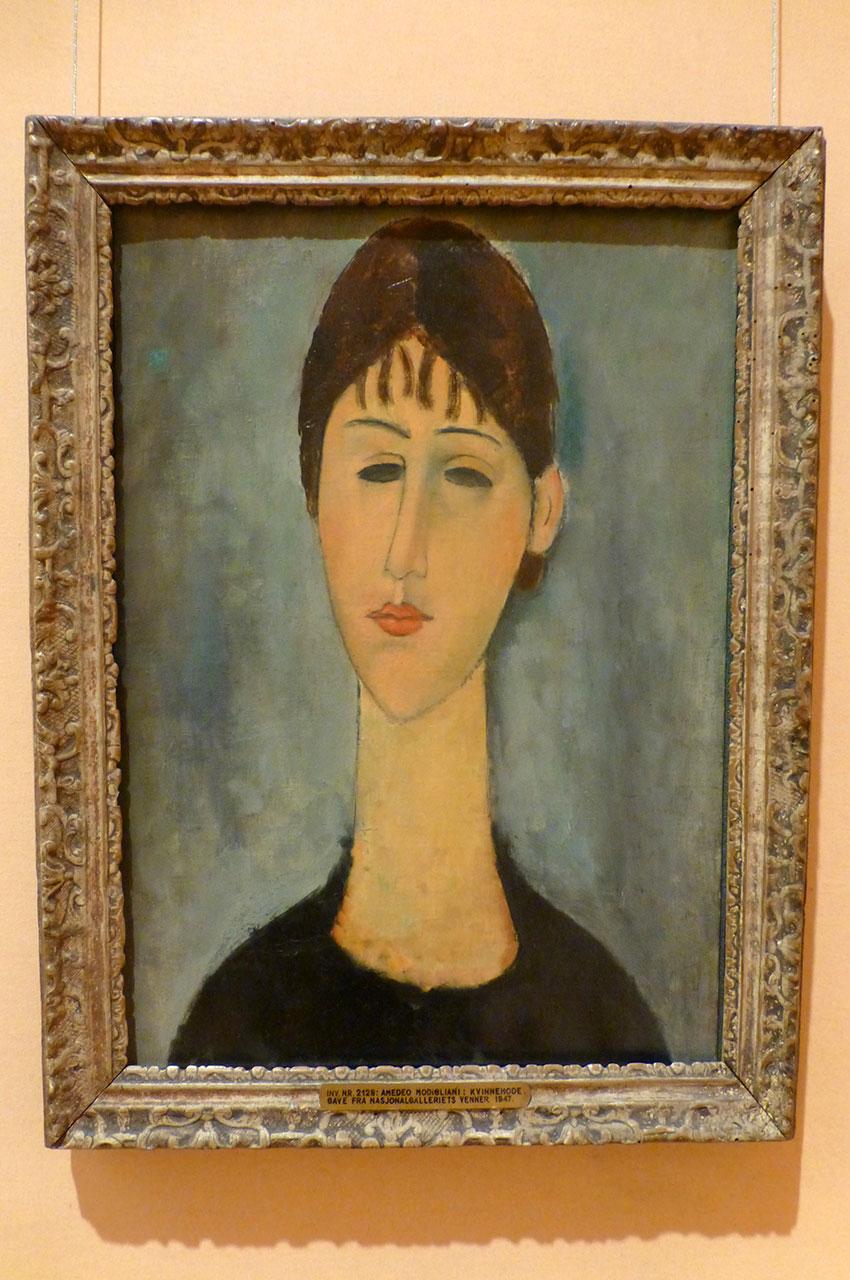 Portrait de Madame Zborowska, de Amedeo Modigliani