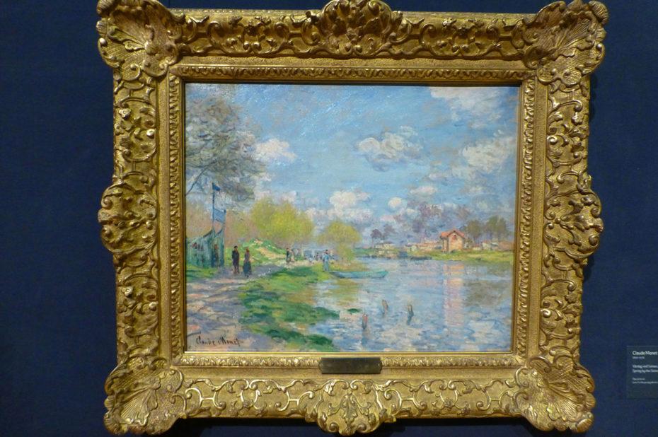 Printemps à l'île de la Grande Jatte, de Claude Monet