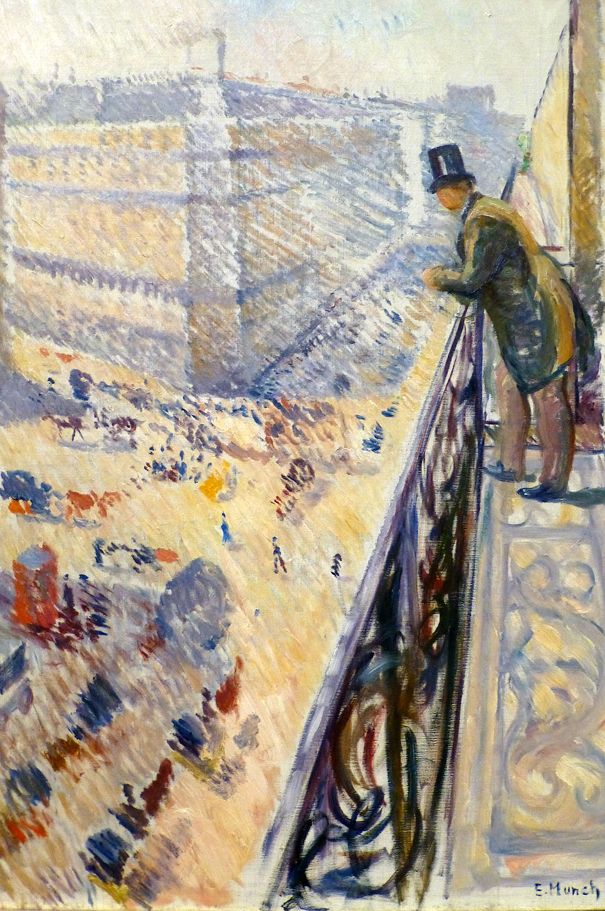 Rue Lafayette, de Edvard Munch