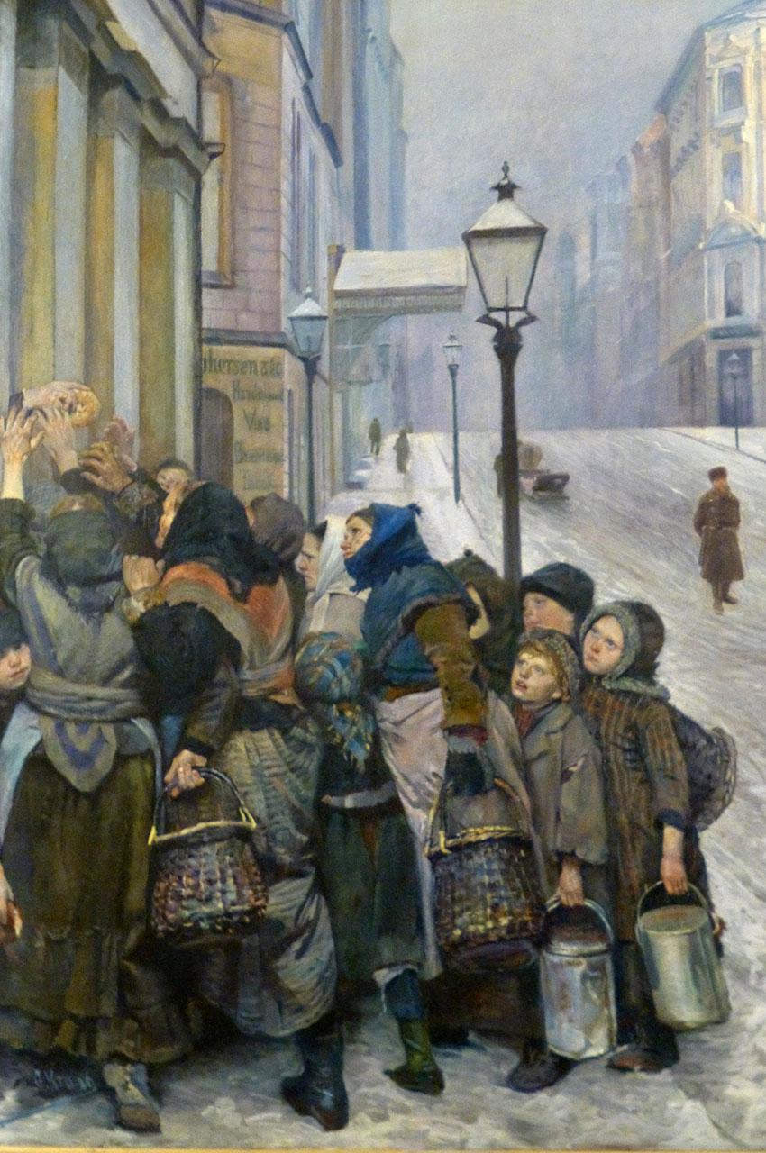 Struggle for Survival, de Christian Krohg