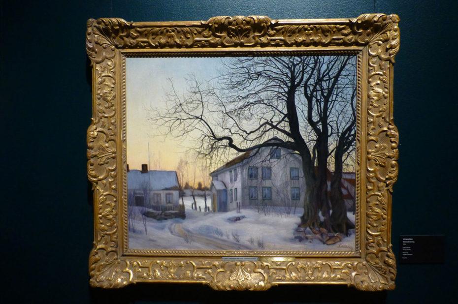 Winter afternoon, de Harald Sohlberg
