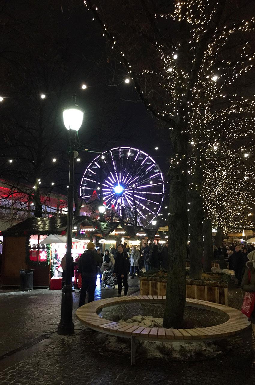 Au cœur du marché de Noël de la capitale norvégienne