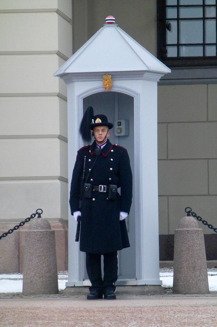 Garde royal du palais