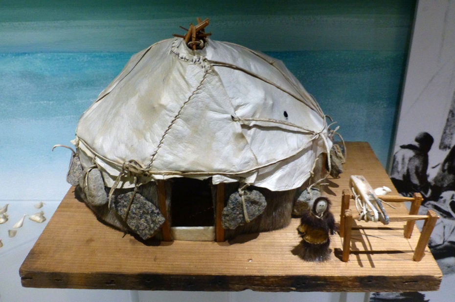 Hutte traditionnelle Nenet