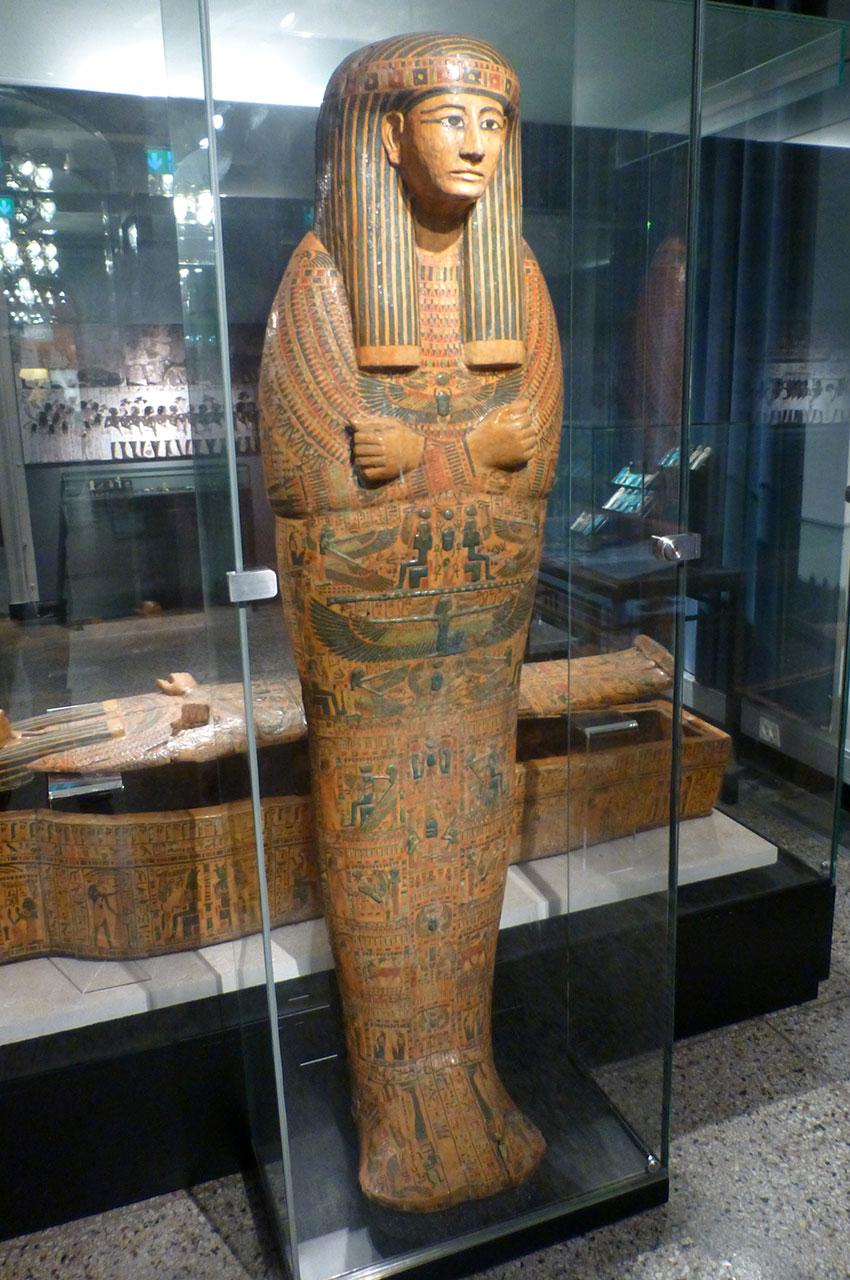 Momie de la 21e dynastie découverte en 1891 à l'Deir-El-Bahri