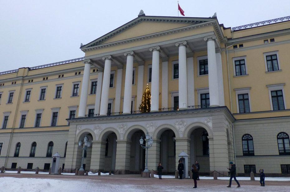 Le Palais Royal de Norvège à Oslo